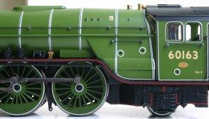 Bachmann BR LNER - Peppercorn A1 - 60163 - Tornado - Apple Green (7)