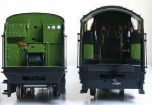 Bachmann BR LNER - Peppercorn A1 - 60163 - Tornado - Apple Green (cab)