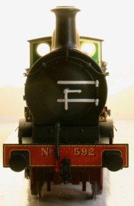 Bachmann SECR C Class 592 (smokebox)