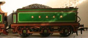 Bachmann SECR C Class 592 (tender-profile)