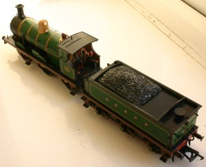Bachmann SECR C Class 592 (view from above)