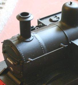 Hornby Railroad Jinty BR Black 47646