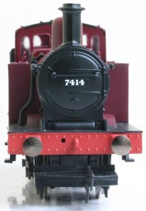 Hornby Railroad LMS 3F Jinty 7414 (smoke box)