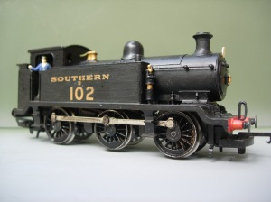 Hornby - Southern ex-LBSCR E2 tank - Southern 102