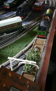 Locoyard Christmas tree delivery (Bachmann C class 592)