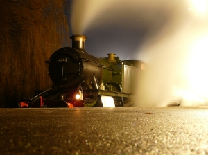 Three Plank Media Owen Hayward - Epping Ongar Railway - December 2012 - 4141 - Members Special - Ongar Station