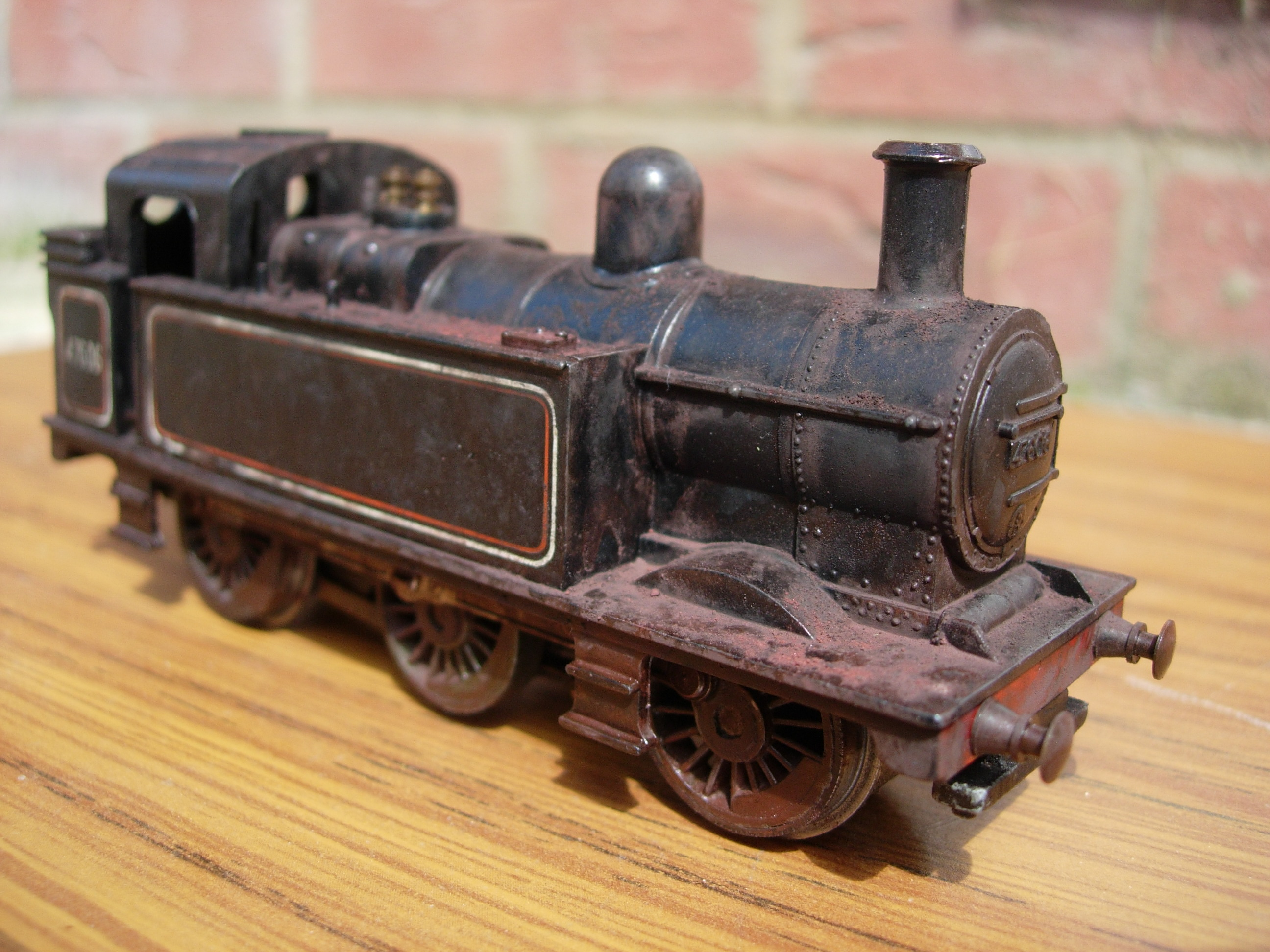 Triang Hornby – Heavily Weathered Jinty 47606