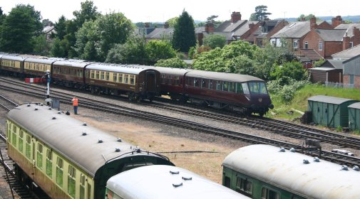 2011 - Great Central Railway - Loughborough - LNER Observation car E1719E