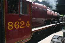 2011 - Great Central Railway - Loughborough - LMS Stanier 8F 2-8-0 - 8624