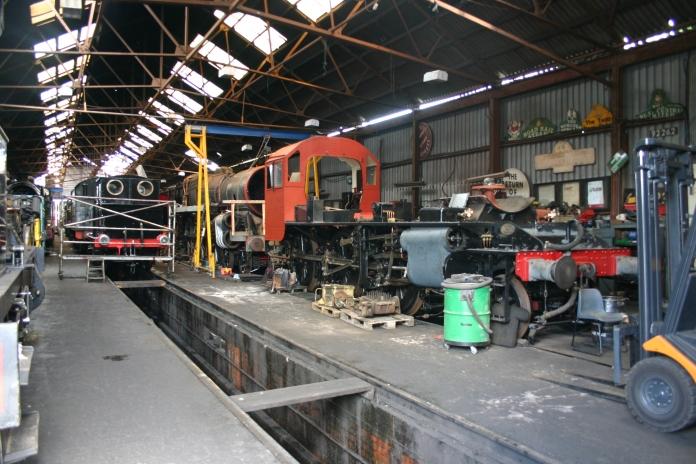 2011 - Great Central Railway - Loughborough Loco Works