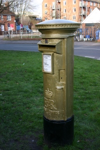 2013 - Alton - Gold Letter Box