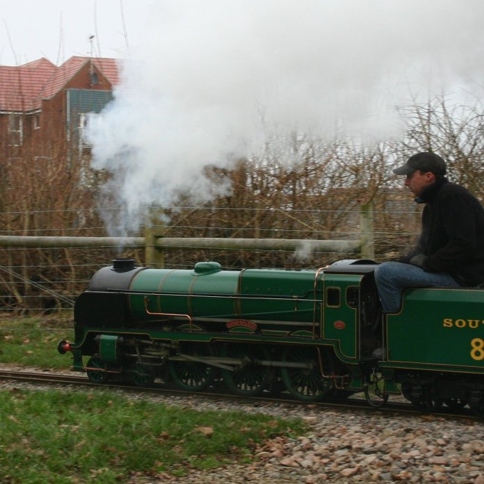 6th January 2013 - Eastleigh Lakeside Steam Railway - 850 Lord Nelson