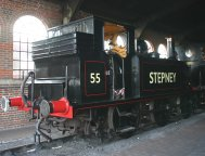 2011 - Bluebell Railway - Sheffield Park - A1X Terrier - 55 Stepney