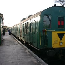 2013 - Watercress Line - Ropley - Class 205 DEMU Hampshire Unit Thumper - 1125