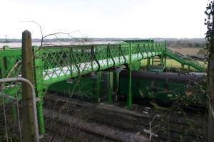 2013 - Watercress Line - Ropley - Kings Cross Footbridge