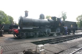 2009 - Bluebell Railway - Sheffield Park - 34059 Sir Archibald Sinclair