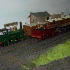 2013 - Southampton Model Railway Exhibition - Knockley Gate