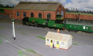 2013 - Southampton Model Railway Exhibition - Casterbridge