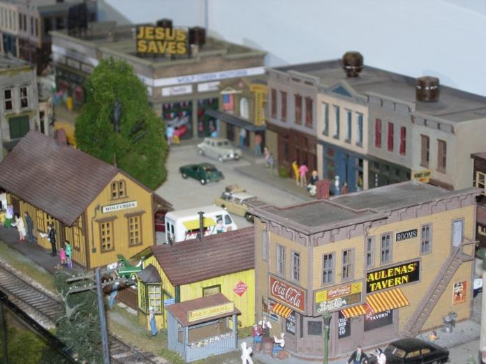 2013 - Southampton Model Railway Exhibition - Wolf Creek