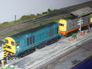 2013 - Southampton Model Railway Exhibition - Moonhill Depot