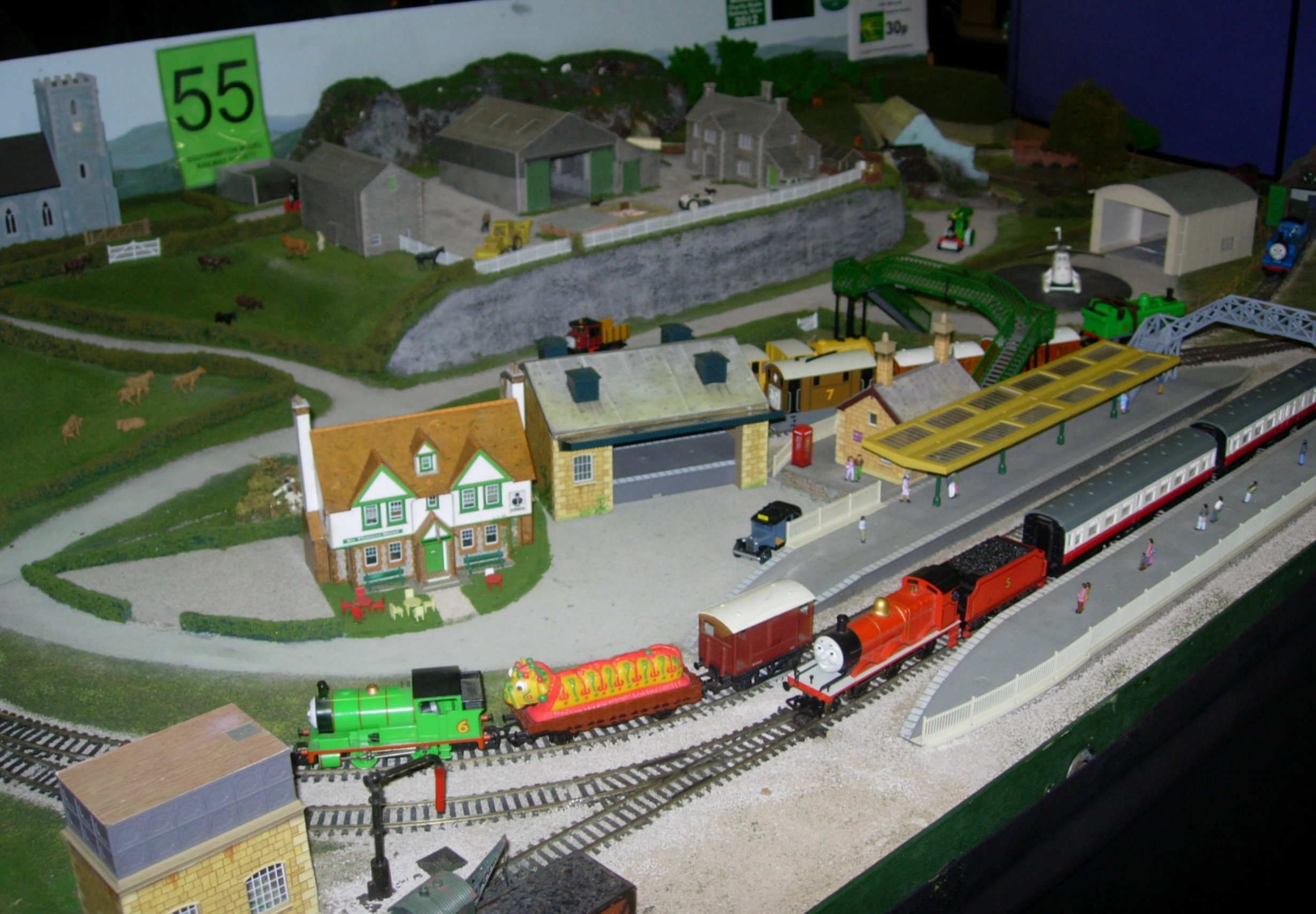 thomas and friends harold the helicopter with Smrs Exhibition 2013 Part 5 Moonhill Depot Childrens Corner And Wansbeck Road on 431 in addition 361911314364 furthermore Watch together with Thomas Xl Sprites 1 284590295 additionally File DuckTakesCharge55.