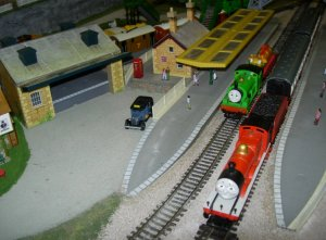2013 - Southampton Model Railway Exhibition - Childrens Corner