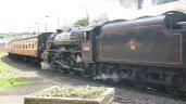 2011 - North York Moors Railway (NYMR) - Whitby - Ex-LMS Black 5 class - 5MT - 45428 Eric Treacy (tender first)