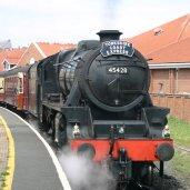 2011 - North York Moors Railway (NYMR) - Whitby - Ex-LMS Black 5 class - 5MT - 45428 Eric Treacy (Yorkshire Coast Express)