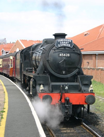 2011 - North York Moors Railway (NYMR) - Whitby - Ex-LMS Black 5 class - 5MT - 45428 Eric Treacy (Yorkshire Coast Express)