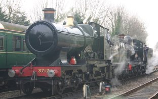 2011 The Great Spring Gala - Watercress Line - Alresford - 3717 City of Truro & 9017 Earl of Berkeley