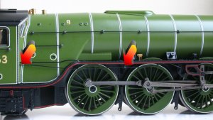 Bachmann BR LNER - Peppercorn A1 - 60163 - Tornado - Apple Green - DCC Fitting Guide