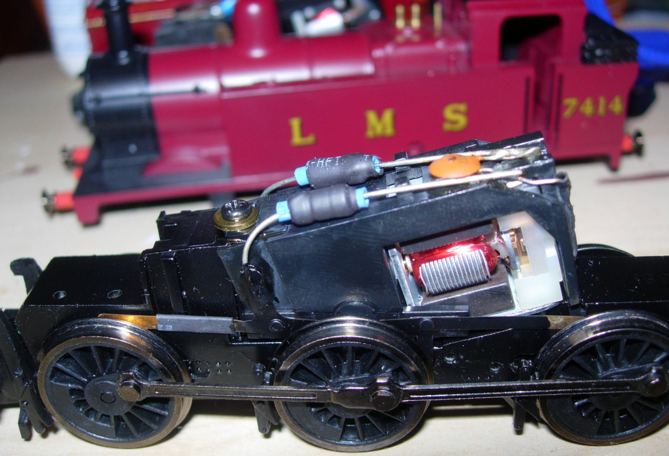 Hornby type 7 motor standard chassis 0 6 0 dcc fitting for M and g motors