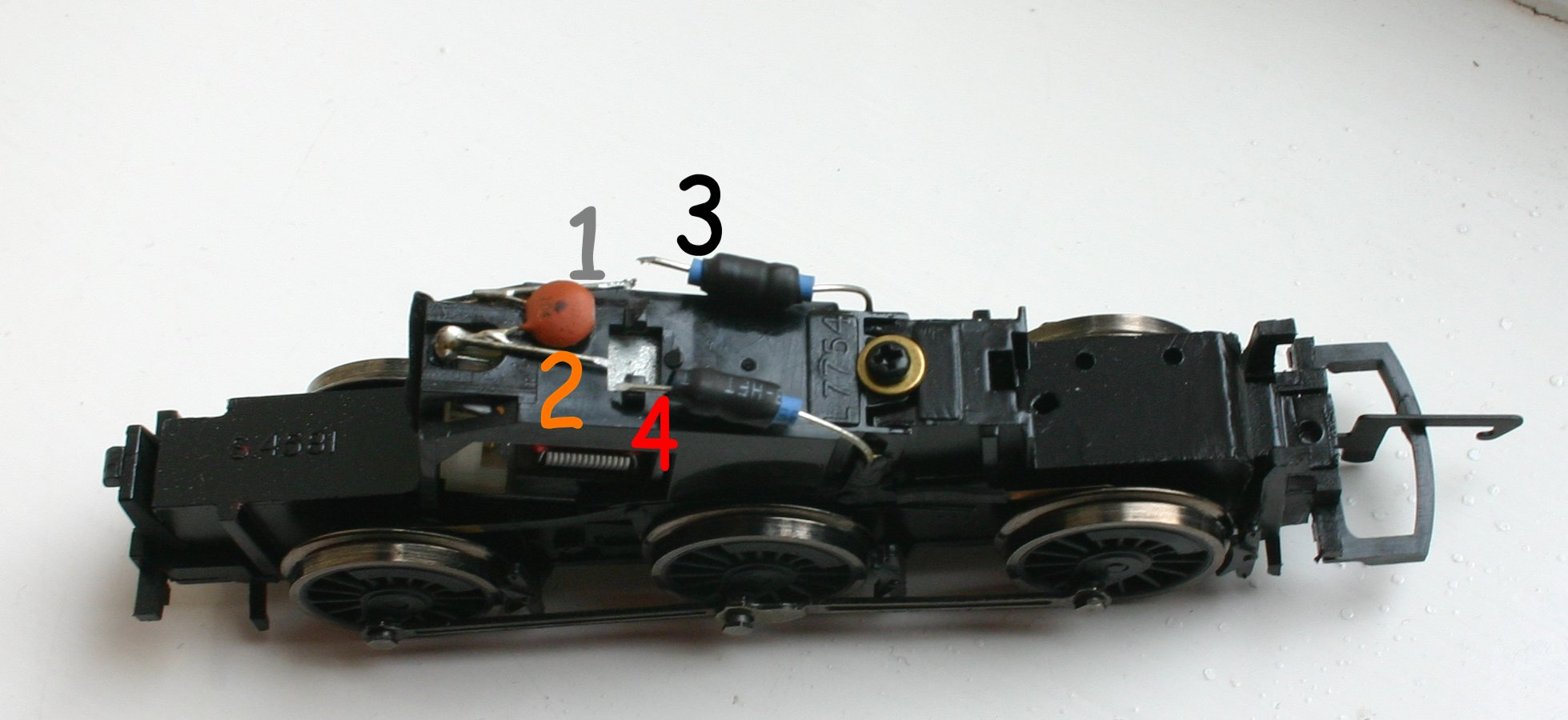 Hornby Type 7 Motor Standard Chassis 0 6 0 DCC Fitting