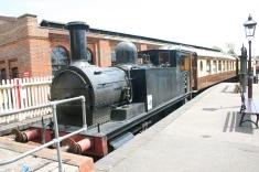 2011 - Bluebell Railway - Sheffield Park - North London Railway class 75 Goods Tank - 58850