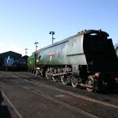 2013 - Watercress Line - Ropley - Ex-SR Bulleid West Country class - 34007 Wadebridge