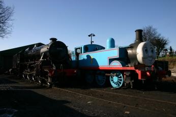 2013 - Watercress Line - Ropley - 1 Thomas & Ex-LMS - Black 5MT class - 45379