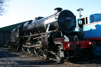 2013 - Watercress Line - Ropley - Ex-LMS - Black 5MT class - 45379