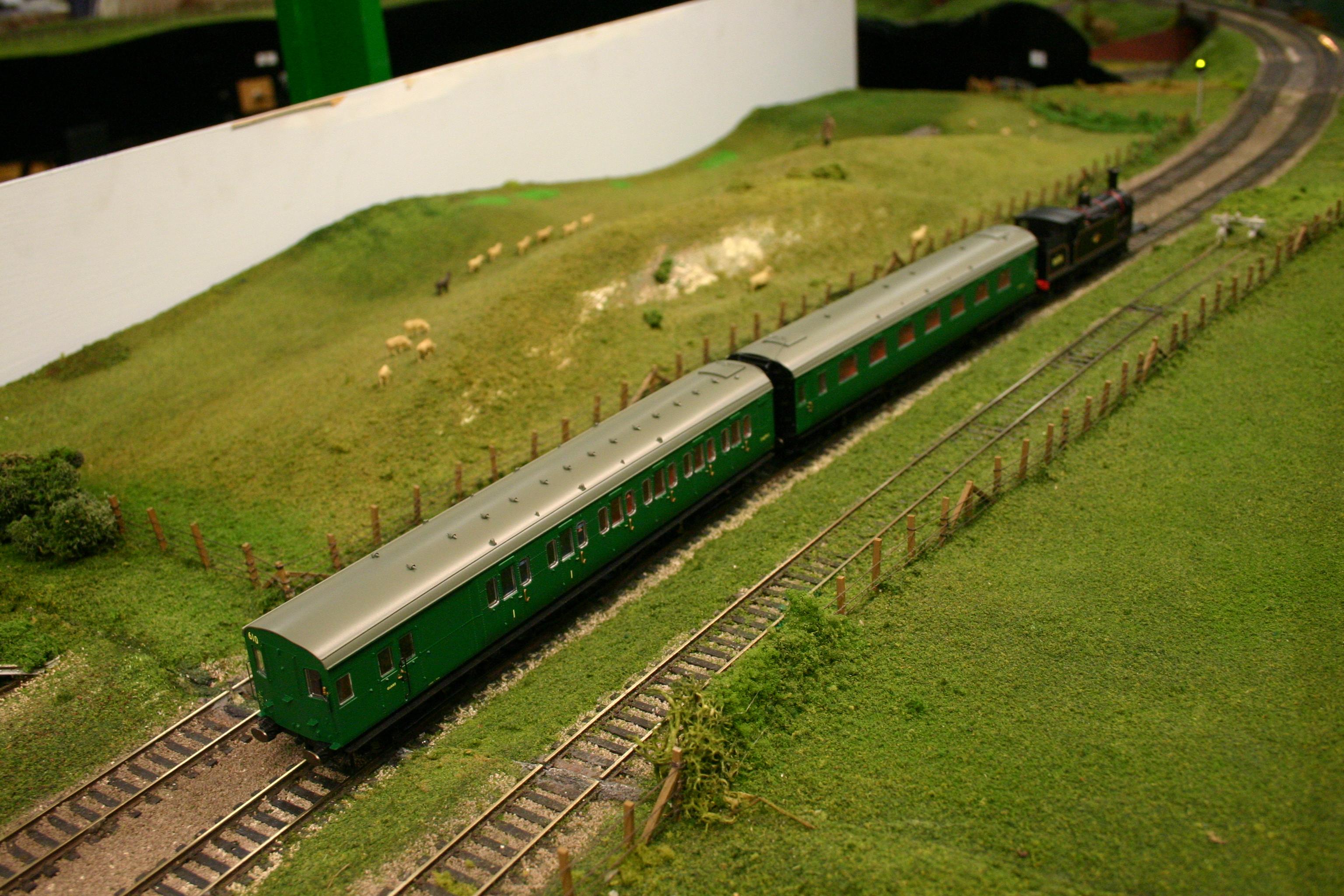 Model railway exhibitions in april 2015