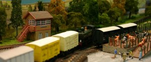 2013 - Solent Model Railway Group - Eurotrack Model Exhibition - Camlas