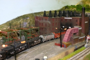 2013 - Solent Model Railway Group - Eurotrack Model Exhibition - Forton Hill