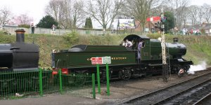 2011 - Watercress Line - Alresford - 3717 City of Truro & 9017 Earl of Berkeley