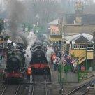 2011 - Watercress Line - Alresford - 3717 City of Truro, 9017 Earl of Berkeley & 31806