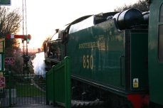 2013 - Watercress Line - Ropley - SR 850 Lord Nelson