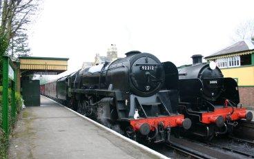 2011 Watercress Line - Alresford - BR Standard 9F class - 92212 & Ex-SR U class - 31806