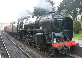 2011 Watercress Line - Ropley - BR Standard 9F class - 92212