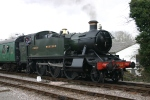2013 Great Spring Steam Gala - Watercress Line - Medstead & Four Marks - GWR 5101 class Prairie Tank - 5164