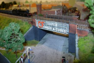 2013 - Southampton Model Railway Exhibition - Melton Mowbray (North)