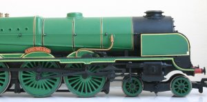 Locoyard Modified Bachmann Southern - 850 Lord Nelson (2)