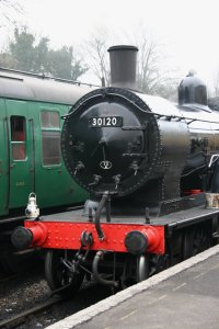 2013 Great Spring Steam Gala - Watercress Line - Ropley - Ex-LSWR T9 class - 30120