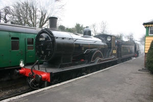 2013 Great Spring Steam Gala - Watercress Line - Ropley - Ex-LSWR T9 class - 30120 & Southern Schools V - 925 Cheltenham